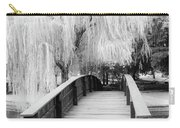 Willow Tree Over The Bridge Carry-all Pouch