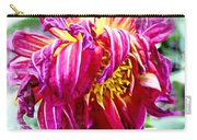 Wilted Dahlia. Carry-all Pouch
