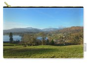 Windermere With Loughrigg Fell And The Langdales From Ambleside Carry-all Pouch