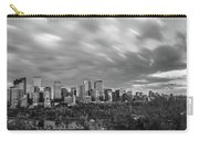 Windy Evening Calgary Downtown Bw Carry-all Pouch