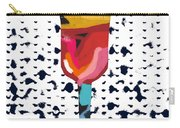 Wine And Matzo- Art By Linda Woods Carry-all Pouch