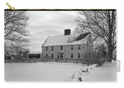 Winter At Noyes House Carry-all Pouch