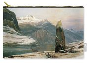 Winter At The Sognefjord - Digital Remastered Edition Carry-all Pouch