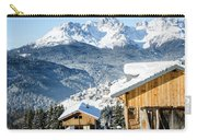 Winter Landscape On The Italian Dolomites Carry-all Pouch