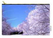 Winter Like River Scene  Carry-all Pouch