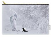Winter Solstice Holiday Card Carry-all Pouch
