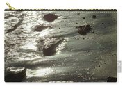 Winter Sun On The Tide Carry-all Pouch