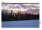 Winter Sunsets Carry-all Pouch