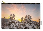 Winter's Last Light, Carry-all Pouch by Jeff Sinon