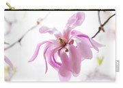 Wispy Pink Petals Carry-all Pouch