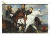 With The York And Ainsty, The Children Of Mr Edward Lycett Green Carry-all Pouch