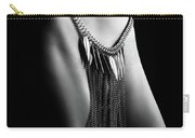 Woman Close-up Chain Panty Carry-all Pouch