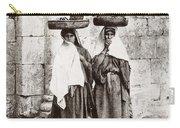 Women From Siloan In Jerusalem Carry-all Pouch