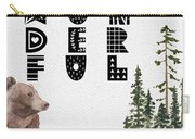 Wonderful Inspirational Poster Carry-all Pouch by Celestial Images