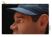 Wood Carving - Babe Ruth 002 Profile Carry-all Pouch