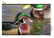 Wood Duck Head Shot Carry-all Pouch