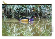 Wood Duck Reflection Carry-all Pouch