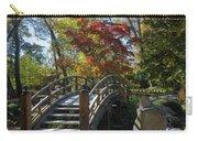 Wooden Bridge In Japanese Garden Carry-all Pouch by Jemmy Archer