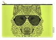 Woolf In Black Glasses Carry-all Pouch