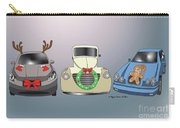 Xmas Cars Carry-all Pouch by Megan Dirsa-DuBois