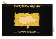Yak Addiction Funny Farmer Animal Lover Carry-all Pouch