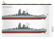 Yamato Class Battleships Port Side Carry-all Pouch