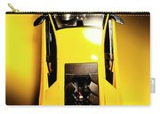 Yellow And Black Carry-all Pouch