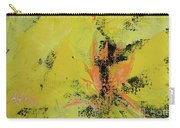 Yellow Blooms Coral Accents Carry-all Pouch