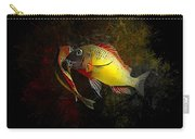 Yellow Blunthead Cichlid Dance Carry-all Pouch