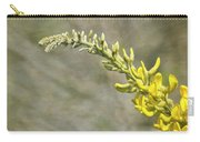 Yellow Lupine Carry-all Pouch by Carolyn Marshall