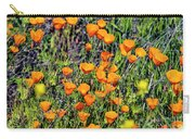 Yellow Poppies Of California Carry-all Pouch