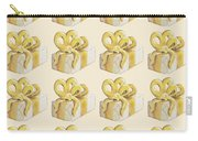 Yellow Presents Pattern Carry-all Pouch