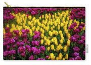 Yellow Star Tulips Carry-all Pouch