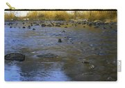 Yosemite River In Yellow Carry-all Pouch