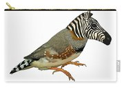 Z Is For Zebra Finch Thats Not A Zebra Finch Carry-all Pouch