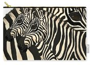 Z Is For Zebras Carry-all Pouch
