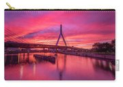 Zakim Bridge Sunset Carry-all Pouch