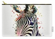 Zebra Watercolor Painting Carry-all Pouch