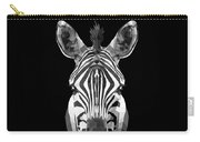 Zebra's Face Carry-all Pouch