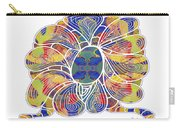 Zen Flower Abstract Meditation Digital Mixed Media Art By Omaste Witkowski Carry-all Pouch by Omaste Witkowski