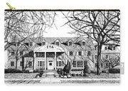Zeta Tau Alpha Sorority House, Purdue University, West Lafayette, Indiana, Fine Art Print Carry-all Pouch
