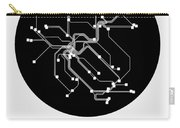 Zurich Black Subway Map Carry-all Pouch