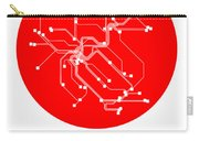 Zurich Red Subway Map Carry-all Pouch