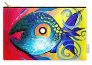 Blue Tongued Happy Boy Carry-all Pouch