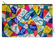 Twenty Plus Fish Triangulated Or Not Carry-all Pouch