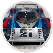 1971 Porsche 917 Lh Coupe Round Beach Towel
