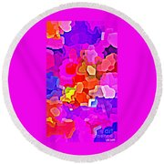Bold And Colorful Phone Case Artwork Designs By Carole Spandau Cbs Art Exclusives 101 Round Beach Towel