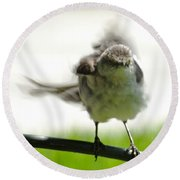 Mockingbird Dance Round Beach Towel