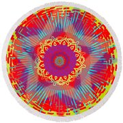 My Chaos Theory Round Beach Towel