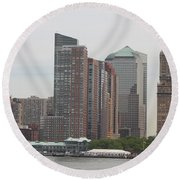 New York - New York Round Beach Towel